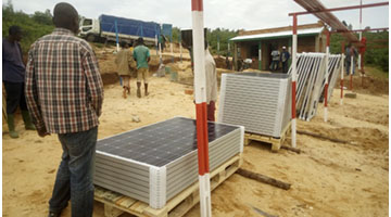 SINES - Solar power pump
