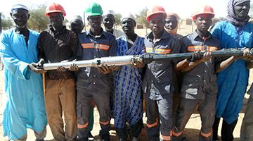 SINES - Water pumping in Burkina